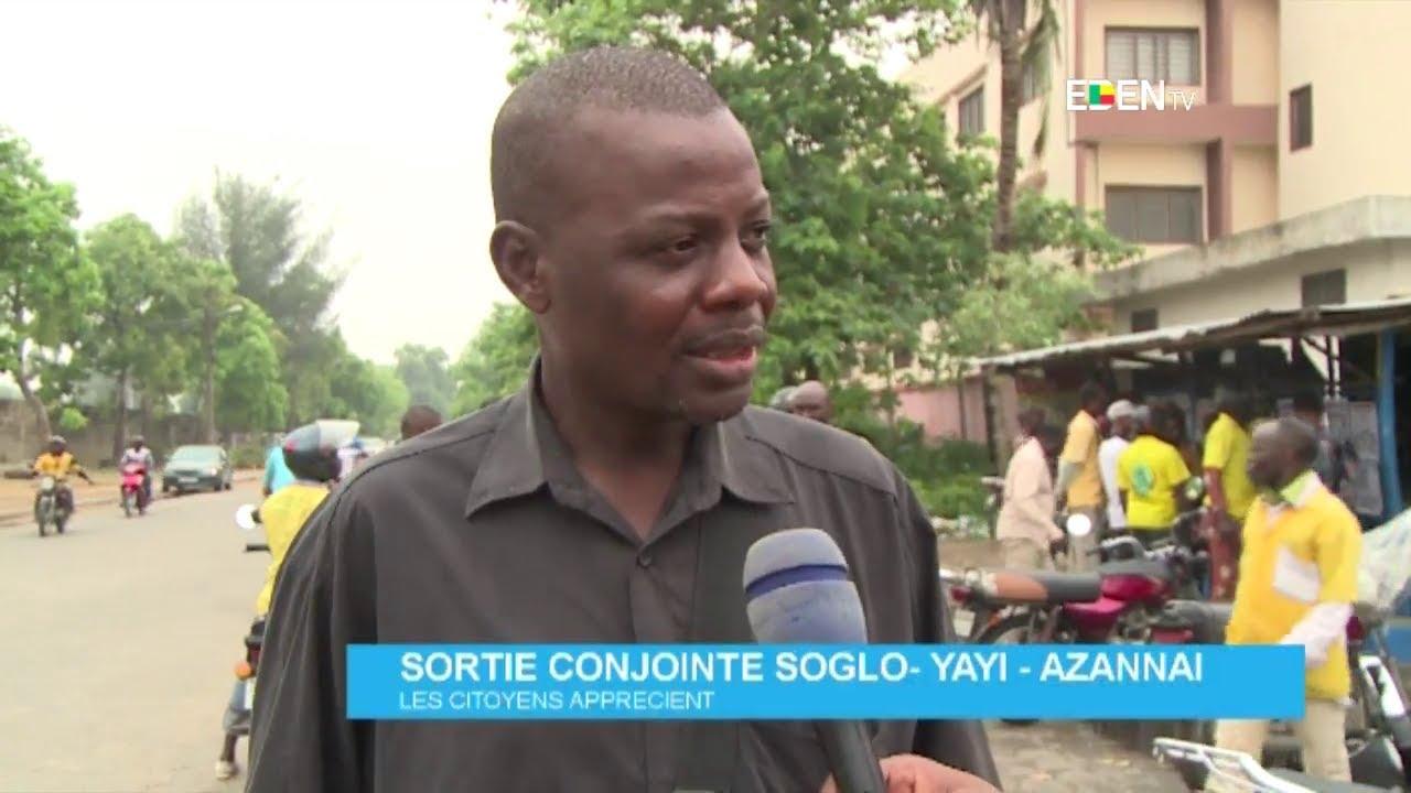 Sortie conjointe Soglo-Yayi-Azannaï : les citoyens apprécient