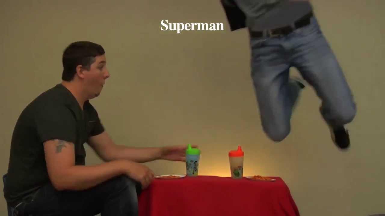 How Superheroes Eat Their Food