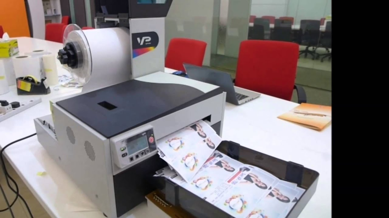 Color printer label - Sen Vp700 Color Label Printer