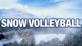 Snow Volleyball | A New Spin to Volleyball