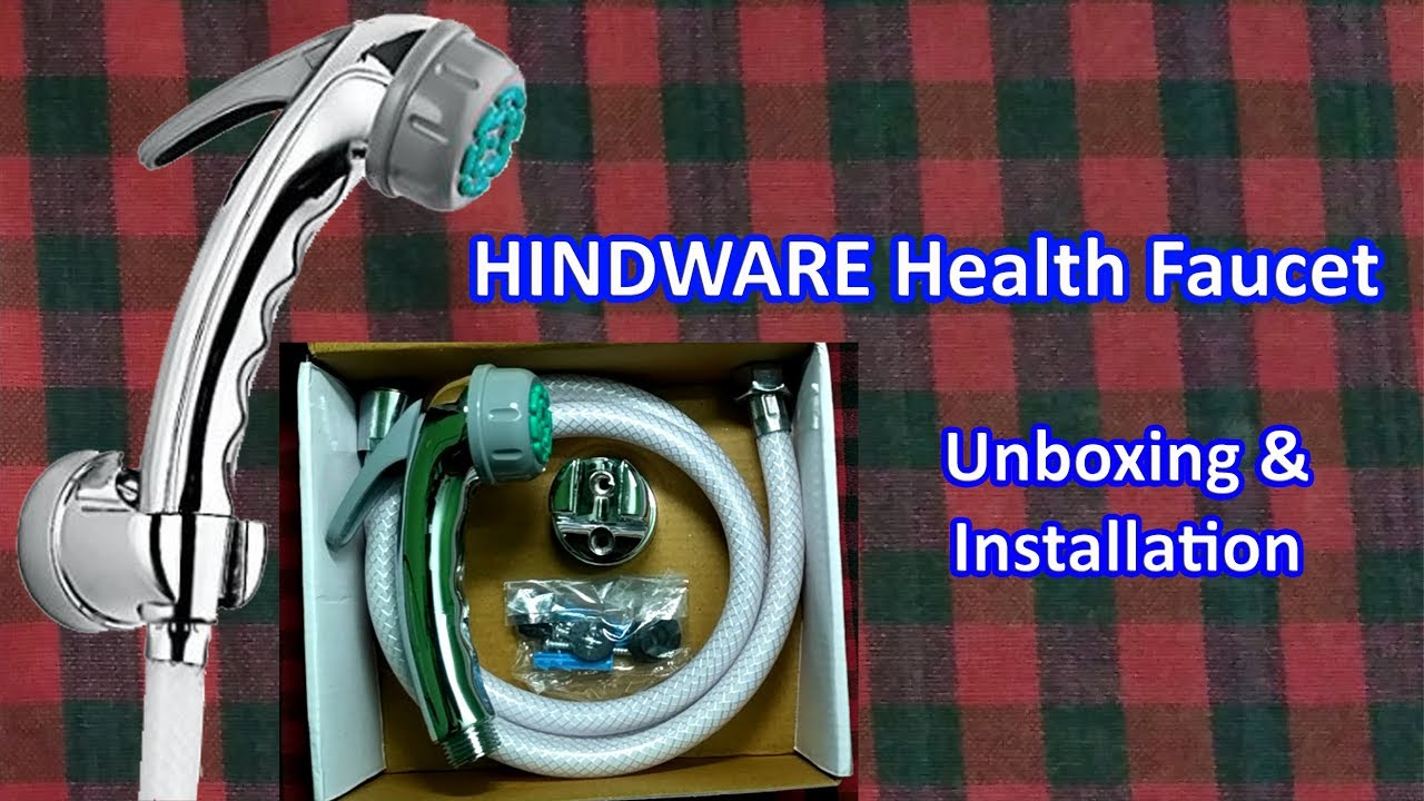 Hindware Health Faucet F160027 - Unboxing and Installation - YouTube