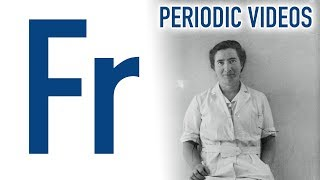 Francium - Periodic Table of Videos