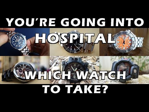 I was admitted to hospital! Which watch did I take with me? - Perth WAtch Suppl #12