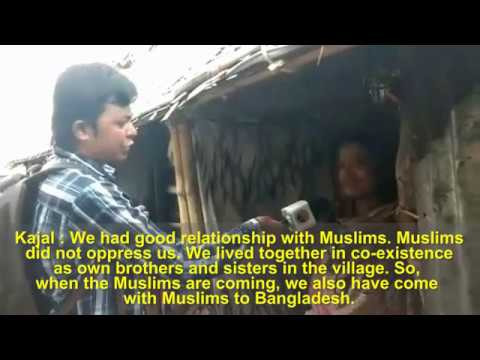 Reality of bogus news against Rohingya Muslims emerging gradually Hindus disclose the reality