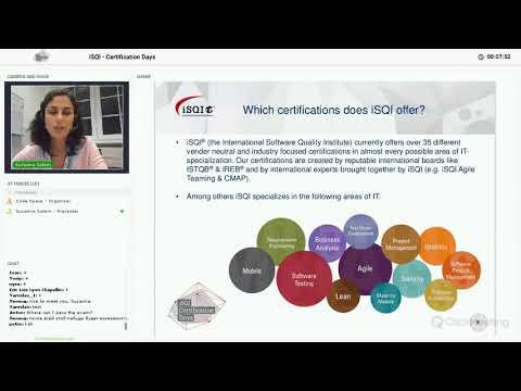 iSQI Certification Days, November 2017, Day 1, ISTQB