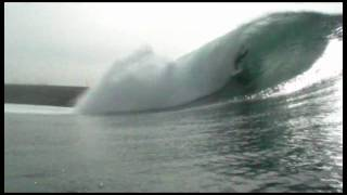 SURFING REDONDO BEACH BREAKWALL CONCRETE JUNGLE.mov