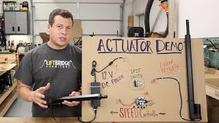 Linear Actuators 101 - for Woodworkers