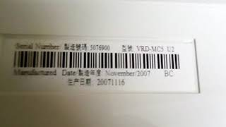 Sony dvd recorder vrd mc5 20-10-2018
