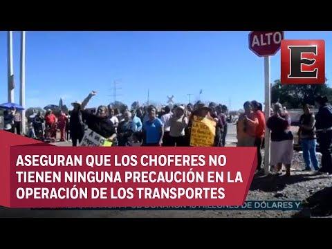 Habitantes de Aguascalientes temen el paso de pipas de combustible