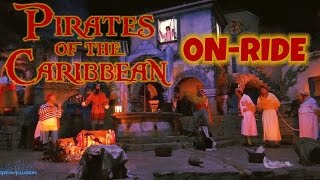 Pirates Of The Caribbean - Pirates des Caraïbes Nightvision On-ride Front (HD POV) Disneyland Paris