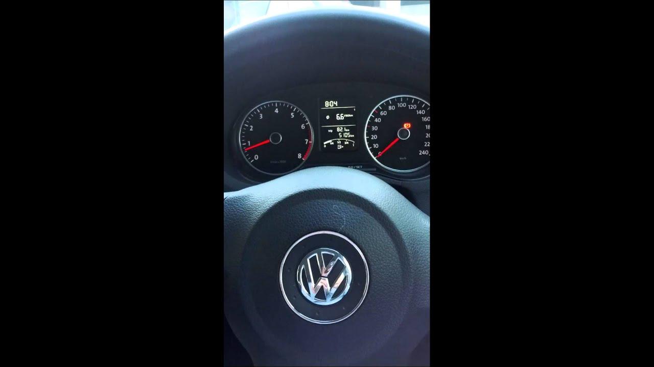 VW Polo 1 2 TSI odd vibration noise at idle