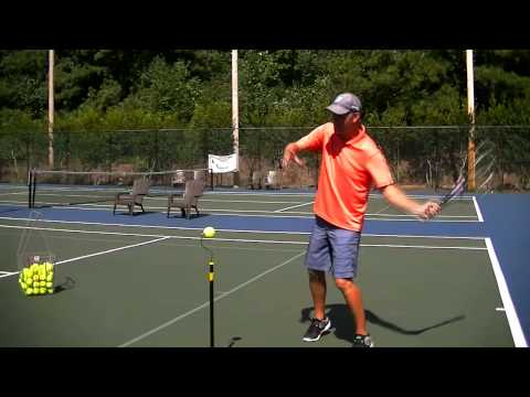 Forehand Tennis Lesson: Topspin forehand acceleration timing