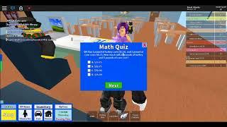 Roblox Thanksgiving-Veranstaltung (Roblox High School Preis #2 Thanksgiving Quiz)
