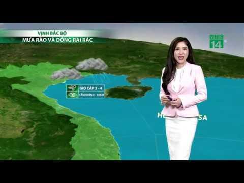 Thời tiết 6h ngày 22/05/2019: Vẫn còn mưa ở miền Bắc, miền Trung   VTC14