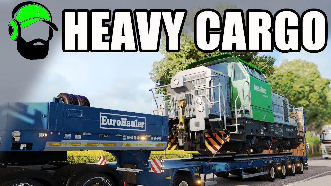euro truck simulator 2 heavy cargo pack dlc it 39 s a train ets2 youtube. Black Bedroom Furniture Sets. Home Design Ideas