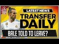 Gareth BALE Boss Gives MANCHESTER UNITED Transfer Advice | MAN UTD Transfer News