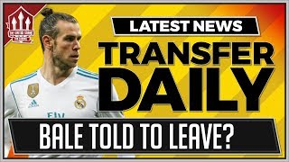 Gareth bale boss gives manchester united transfer advice | man utd transfer news
