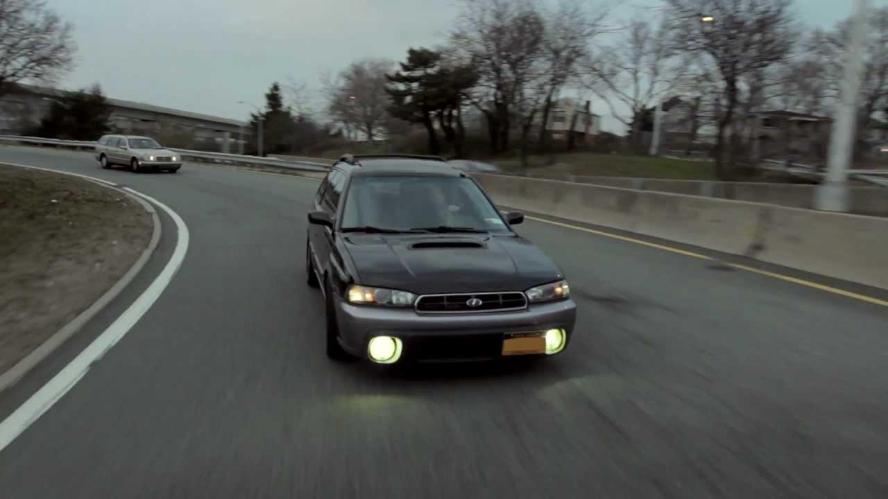 Subaru Legacy Lowered >> Wheelandtorque.com presents Eldon's 1998 Subaru Legacy Outback Wagon - YouTube