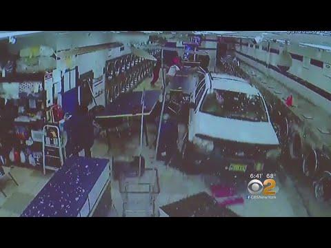 SUV Plows Into Staten Island Laundromat