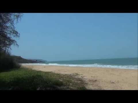 Beaches, Talpona, Galbaga, and Agonda, Goa, India.