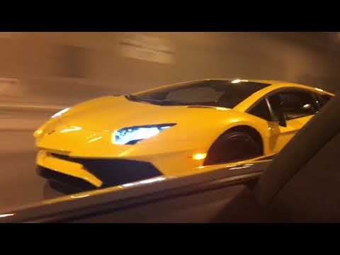 Aventadors in the i90 Tunnel