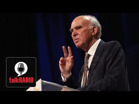 Sir Vince Cable denies making 'racist Brexiteer' slur