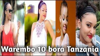 List ya Warembo kumi bora Tanzania  Top 10 most beautiful Tanzanian celebs