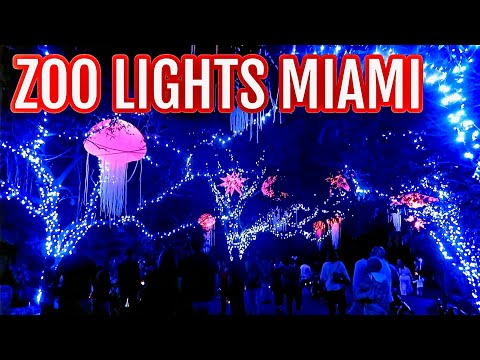 ZOO LIGHTS MIAMI 2019 | Zoo Miami Holiday Event