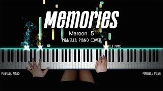Maroon 5 - Memories PIANO COVER by Pianella Piano