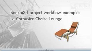 Bonzai3d - Le Corbusier Chaise Lounge