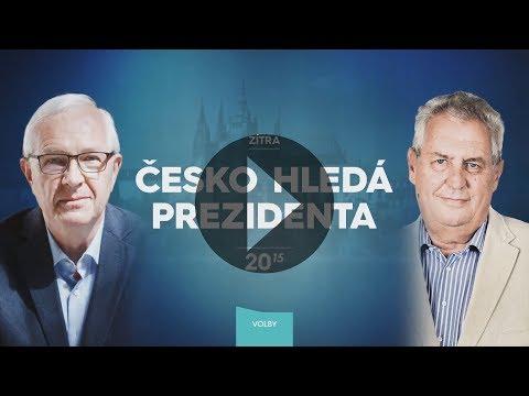 Česko hledá prezidenta zítra večer na Primě