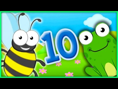 The Number 10 | Number Songs By BubblePopBox | Learn The Number Ten