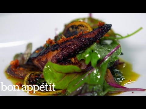 Charred Octopus And Salsa Verde Make The Perfect Summer Dish
