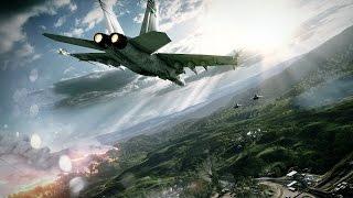 Самый Красивый Воздушный Бой Истребителей в Играх на ПК! Миг 29 России VS F 15 Самолет ВВС США