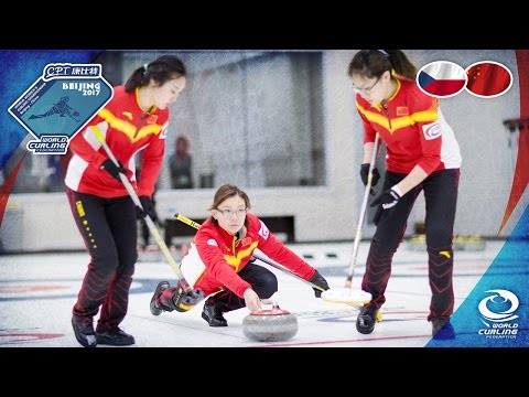 Czech Republic v China - CPT World Women's Curling Championship 2017