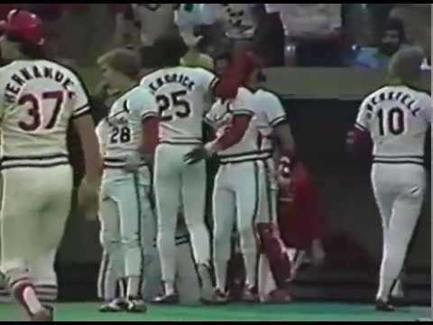 1981 St.Louis Cardinals Season Hightlight film