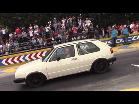 Honda civic Israel Reyes Vs Vw golf AWD mk2 By El Padrino