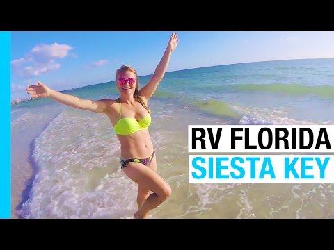 RV Florida Siesta Key Beach & Sailing Sarasota (Ep 28 Keep Your Daydream)