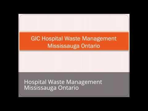 Hospital Waste Management Mississauga Ontario