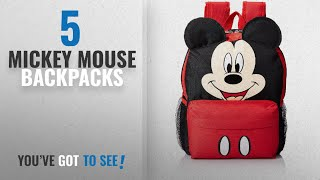Top 10 Mickey Mouse Backpacks  2018 Best Sellers : Disney Junior - Mickey Mouse Backpack With Ears