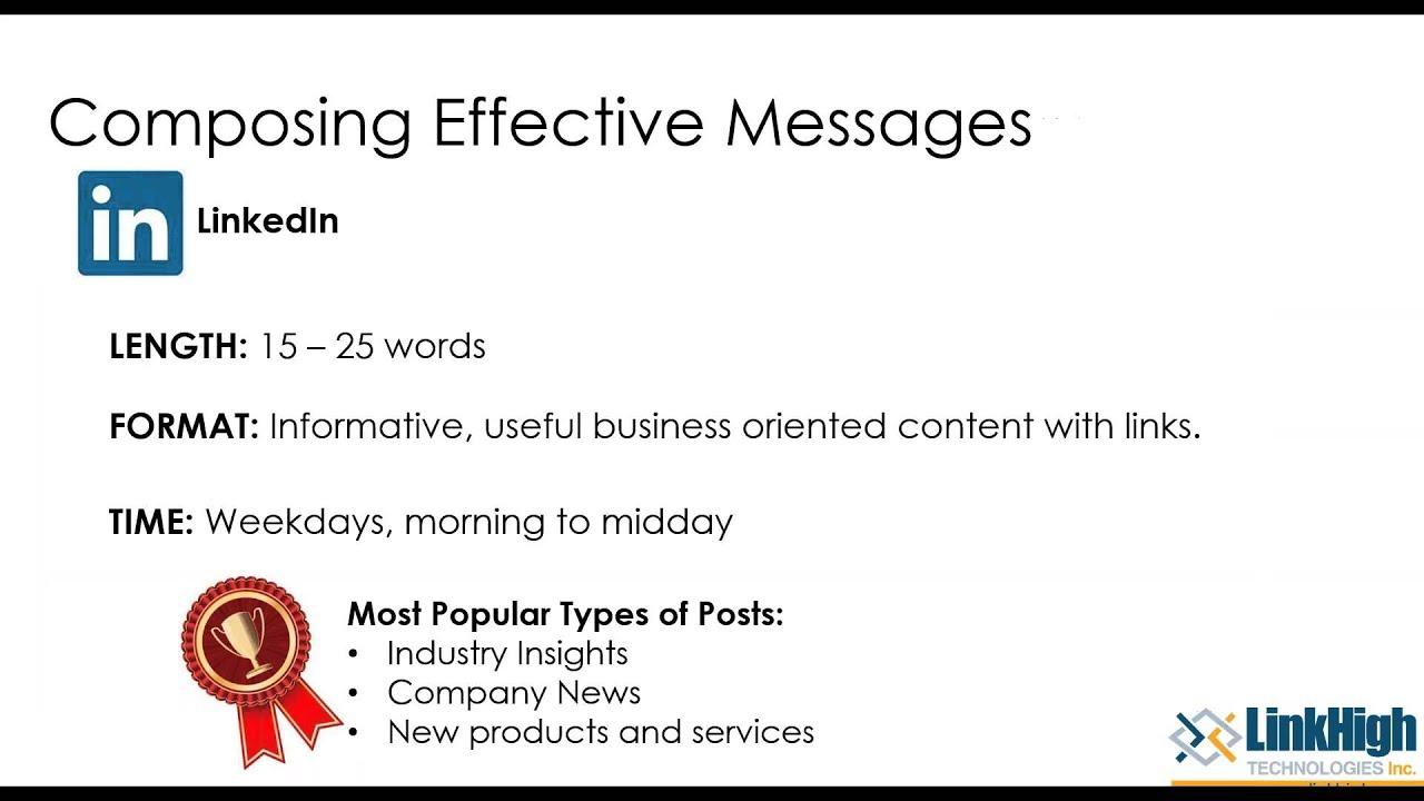 Social Media 201: Making Social Media Work for Your Business (Webinar)