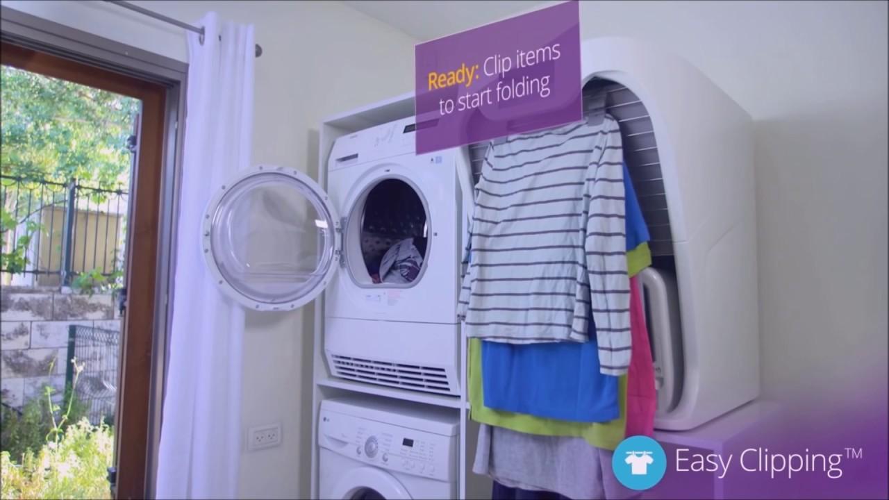 Adesivo De Dente ~ Foldimate el robot que plancha y dobla la ropa YouTube