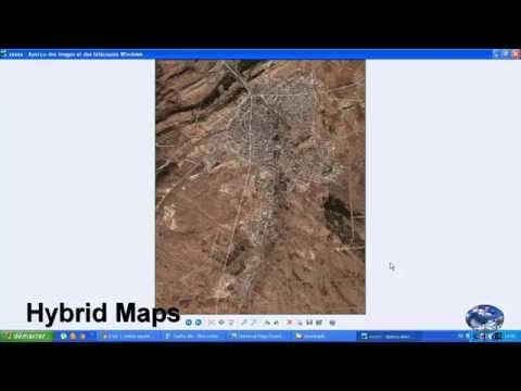 Télécharger satellite imagerie, cartes routières et cartes topo [haute résolution]