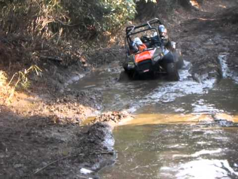 Polaris Rzr S In Mud Youtube