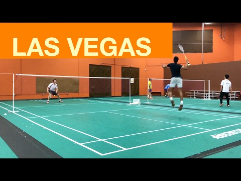 Las Vegas Nevada Badminton Club Friendly Game