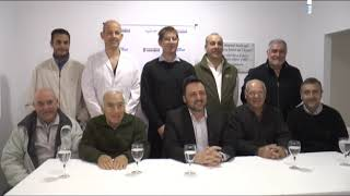 VICTOR AIOLA   FIRMA DE ACTA DE RECEPCION DE OBRA RESONADOR MAGNETICO