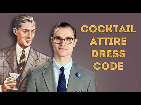 Cocktail Attire Dress Code Explained