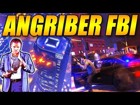 ANGRIBER FBI - NY HEIST - GTA 5 GAMEPLAY - GTA 5 STORY MODE - DANSK GTA 5 - [#19]