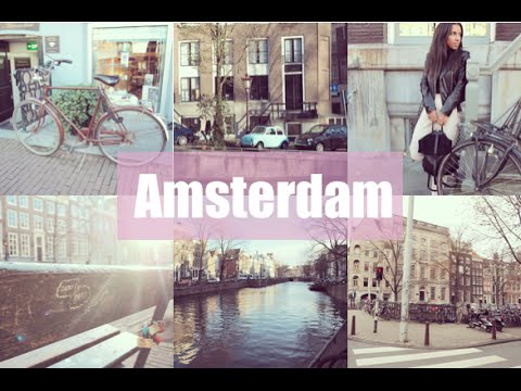 Anne Frank House and Fault In Our Stars Bench | Amsterdam Day 1 | Aine's Wardrobe