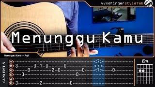 Download lagu OST. Jelita Sejuba - Anji - Menunggu Kamu Cover Fingerstyle  【TAB & Chord】Tutorial Gitar